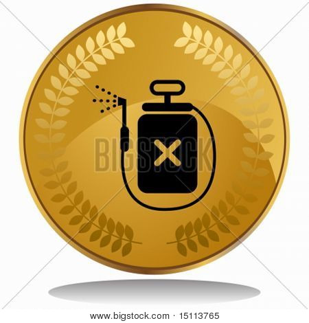insecticide spray coin