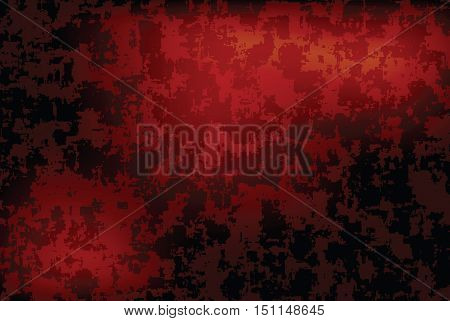 grunge red dark vignette vector horizontal background