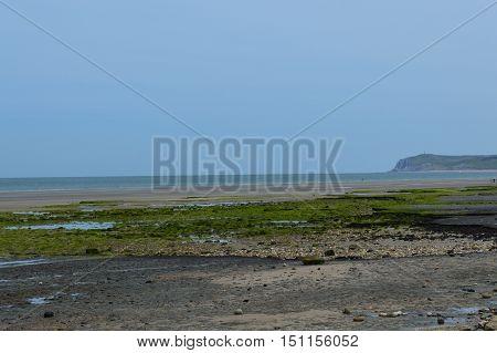 View during a walk along de coast of Nord-Pas-de-Calais