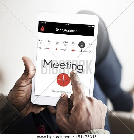 Meeting Appointment Calendar Events Concept
