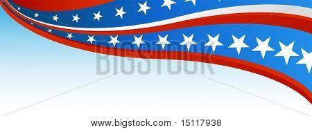Patriotic Flag Banner