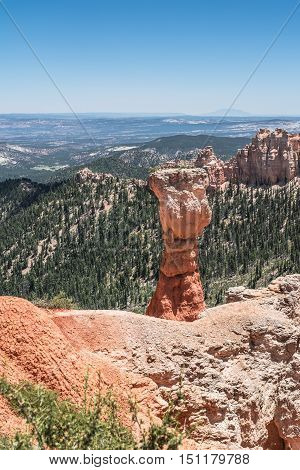 The Hunter in Agua Canyon in Bryce Canyon National Park, Utah