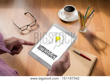 METHODOLOGY touch digital tablet coffee communication communicate