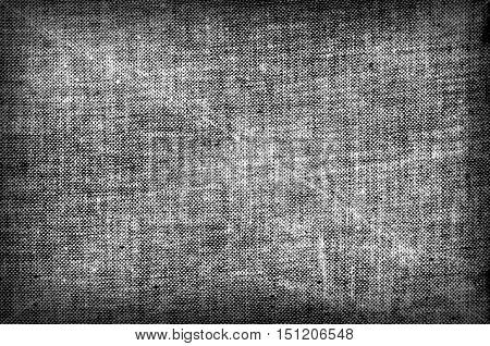 Grey fabric burlap sackcloth textile rural texture
