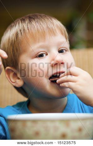 Breakfast Of A Little Boy