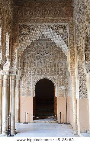 Moorish Art And Architecture Inside The Alhambra (
