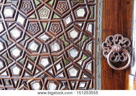 Door Detail Of Suleymaniye Mosque