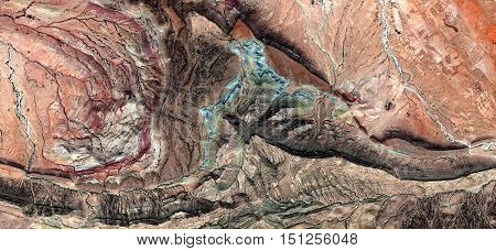 Composition, Abstract Naturalism,abstract photography deserts of Africa from the air,abstract surrealism,mirage in desert,fMunimara Collection of Abstract Naturalism