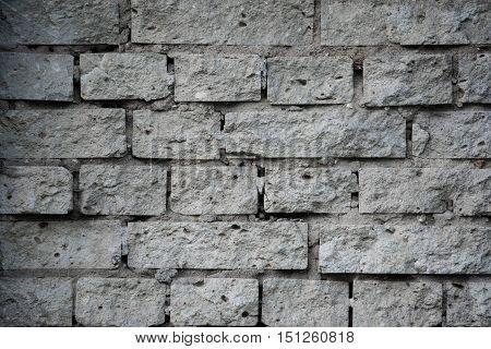 texture of stone gray background brickwork stone