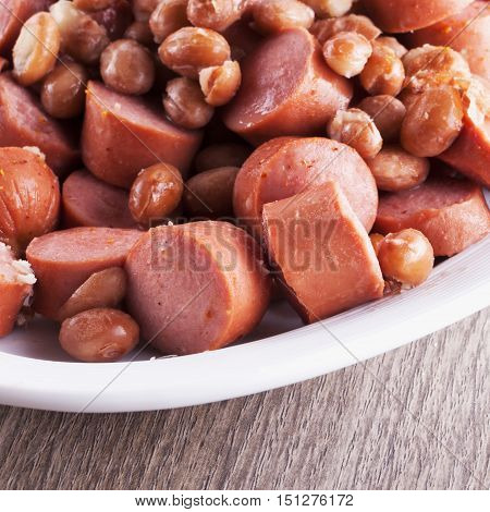 Wurstel And Beans