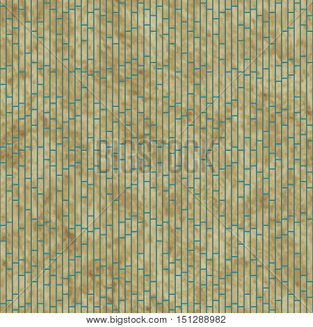 Brown Rectangle Slates Tile Pattern Repeat Background that is seamless and repeats