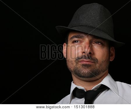 Nice Isolated Image Of a Handsome Italian Man