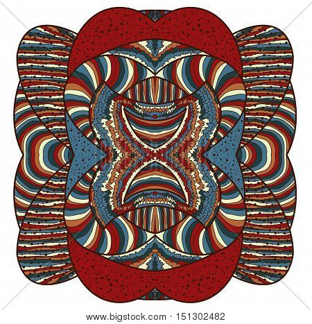 Colorful abstract design element. Illustration 10 version