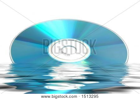 Cd Dvd Reflected