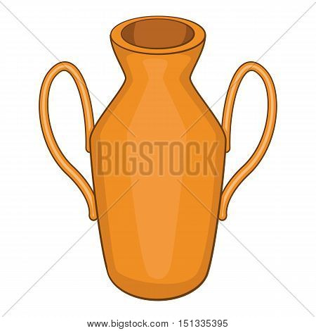 Ancient vase icon. Cartoon illustration of ancient vase vector icon for web