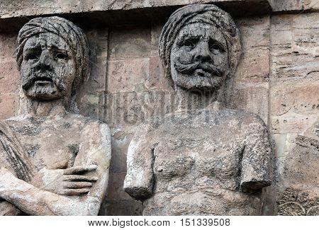 Facade Of The Porta Nuova In Palermo, Sicily