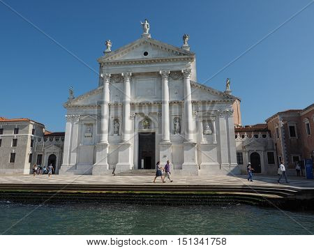 San Giorgio Church In Venice