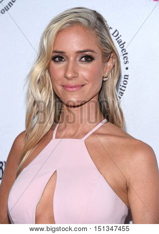 LOS ANGELES - OCT 8:  Kristin Cavallari arrives to the Carousel of Hope 2016 on October 8, 2016 in Hollywood, CA