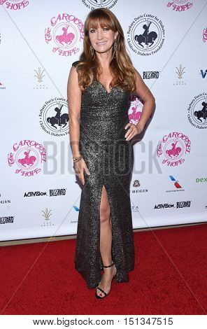 LOS ANGELES - OCT 8:  Jane Seymour arrives to the Carousel of Hope 2016 on October 8, 2016 in Hollywood, CA