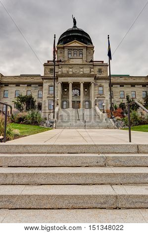 Montana State Capitol building in Helena MT.