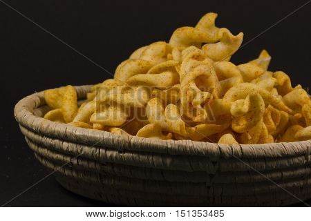 Chips /Chips on plate /Chips close up.