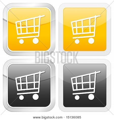 Square Icon Shopping Cart
