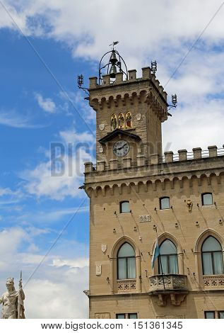 Great Palace Of The Government Of San Marino