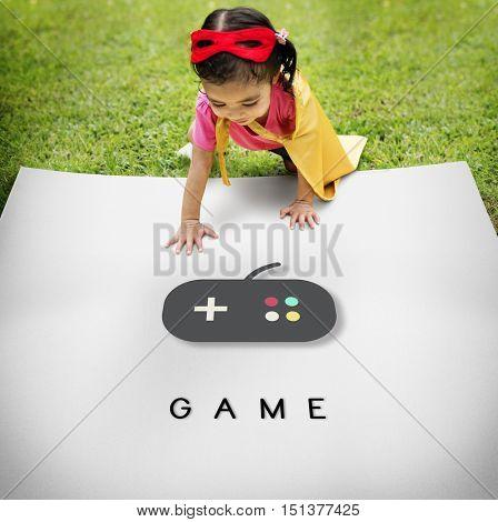 Game Playful Leisure Enjoyment Concept