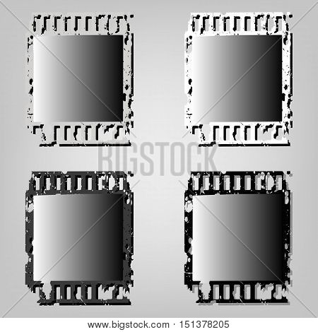 Set Frame Of Photographic Film