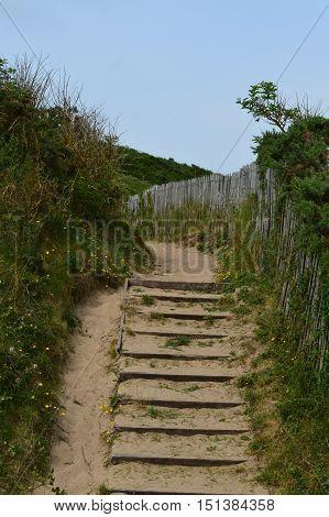 Trail at Nord Pas De Calais in Nord France