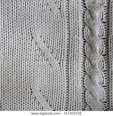 White Background Close up Texture Acryl Cloth
