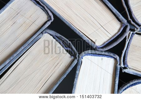 book background, seen from above, education idea