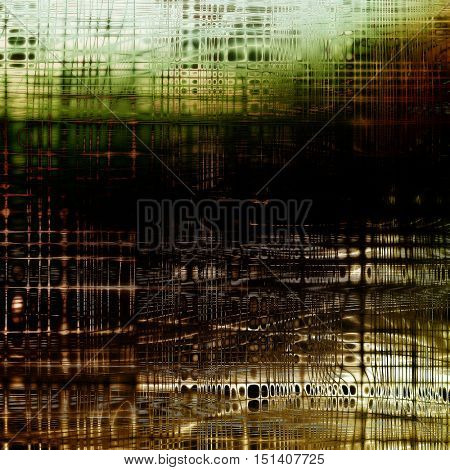 Mottled vintage background with grunge texture and different color patterns: yellow (beige); brown; gray; green; black; white