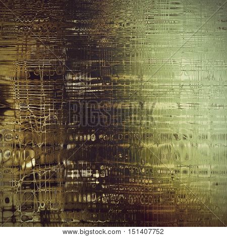 Digitally designed background or texture for retro style frame. With different color patterns: yellow (beige); brown; gray; green