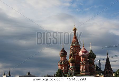 St. Basil's Cathedral is from St. Basil the Blessed