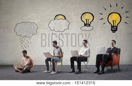Developing great ideas