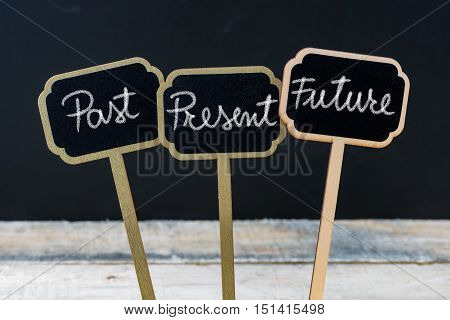 Business Message Past, Present, Future