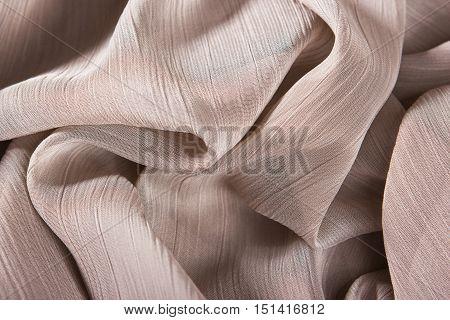 Chiffon Fabric Background Texture.