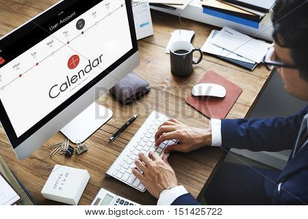 Calendar Appointment Events Concept