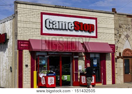Kokomo - Circa October 2016: GameStop Strip Mall Location. GameStop is a Video Game and Electronics Retailer III