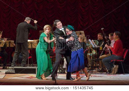 Comic Opera Theatre Director