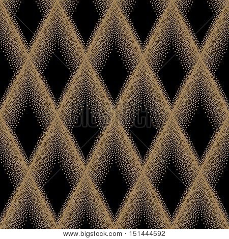 Pointillism Seamless Pattern
