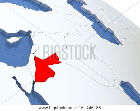 Jordan On Globe