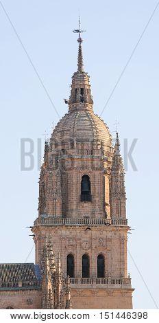 Tower Of The University Of Salamanca, Spain