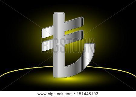 Turkish lira symbol , Turkish lira icon ,