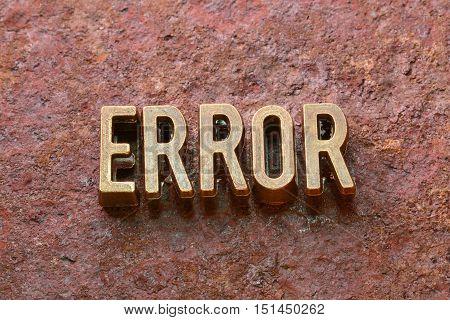 Error Word Rust