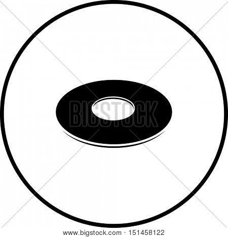 washer symbol