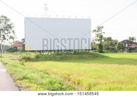 Empty Billboard.
