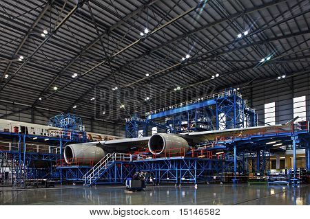 Hangar de aeronaves