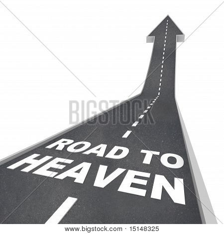 Road To Heaven - Words On Street